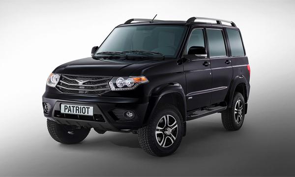 UAZ начал продажи обновленного Patriot