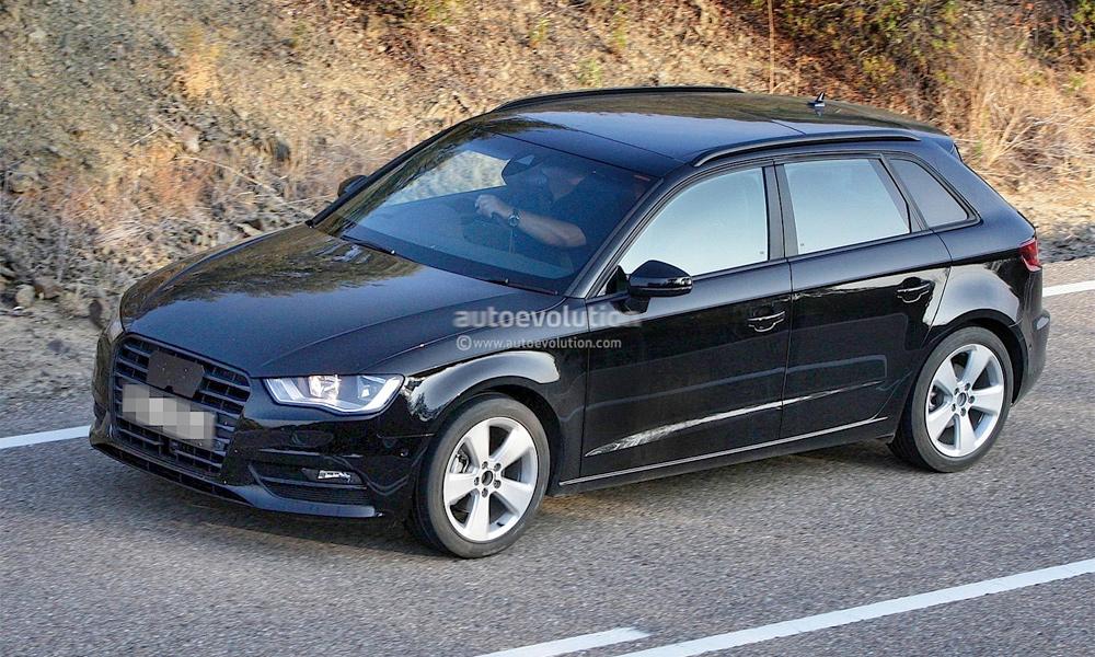 Audi A3 добавили дверей. Первые фото
