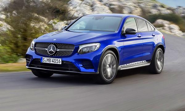 Mercedes-Benz представил компактный кроссовер GLC Coupe