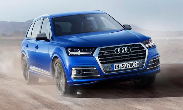 Audi SQ7 получила 435-сильный дизель