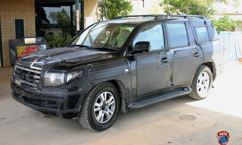 Шпионские фото Toyota Land Cruiser 2009