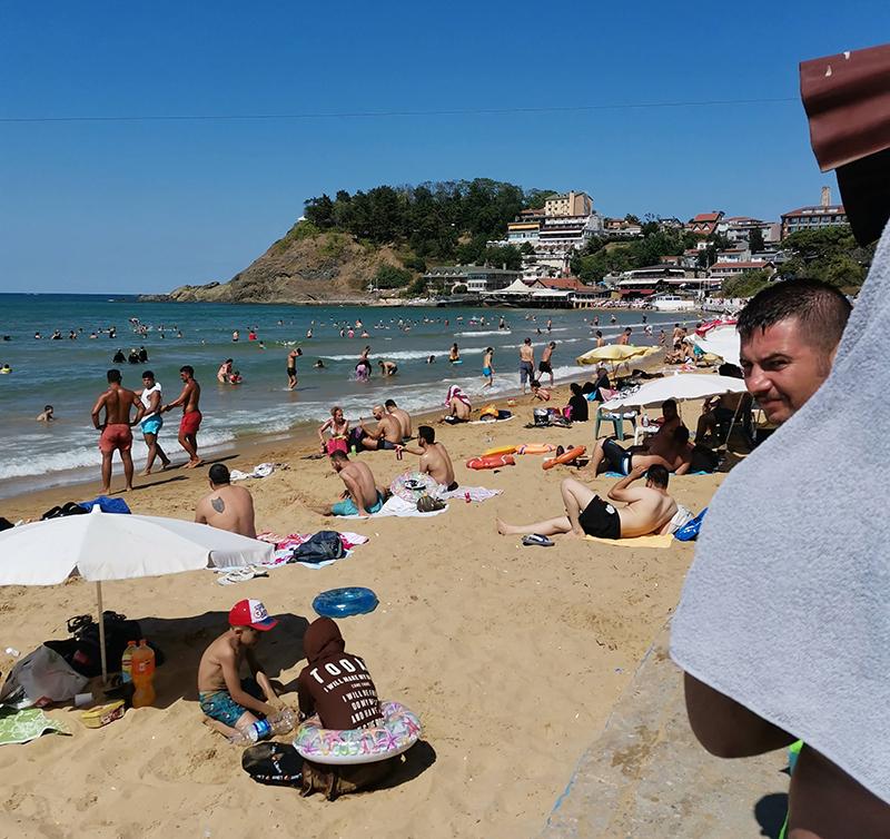 Пляж в Кильосе