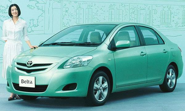 Toyota Belta - красота по-японски