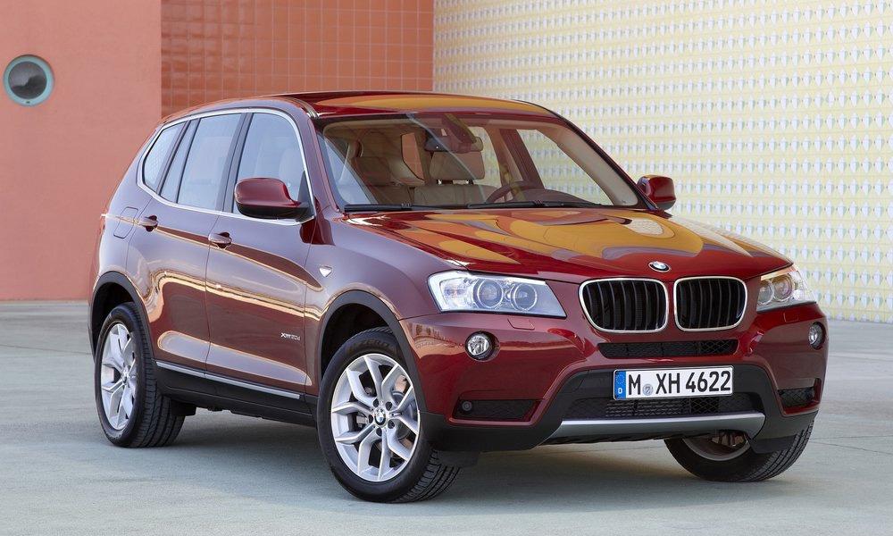 Новый BMW X3 в России будет стоить от 1,8 млн рублей
