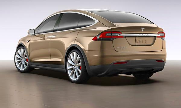 Tesla рассекретила кроссовер Model-X