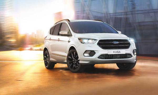Новую Ford Kuga предложат со спортивным пакетом ST-Line