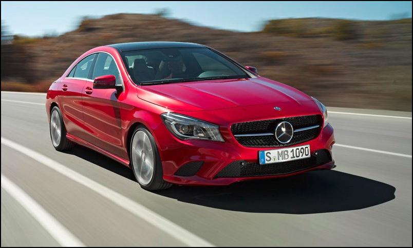 Mercedes рассекретил самый маленький седан