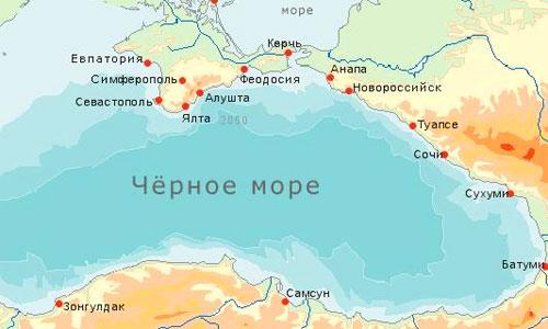 Вокруг Черного моря построят трассу длиной 7000 км