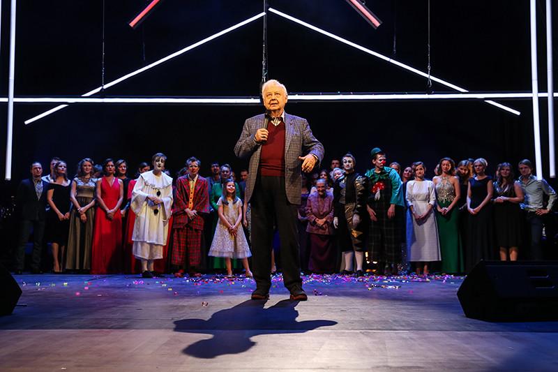 Открытие новой сцены театра под руководством Олега Табакова в Москве