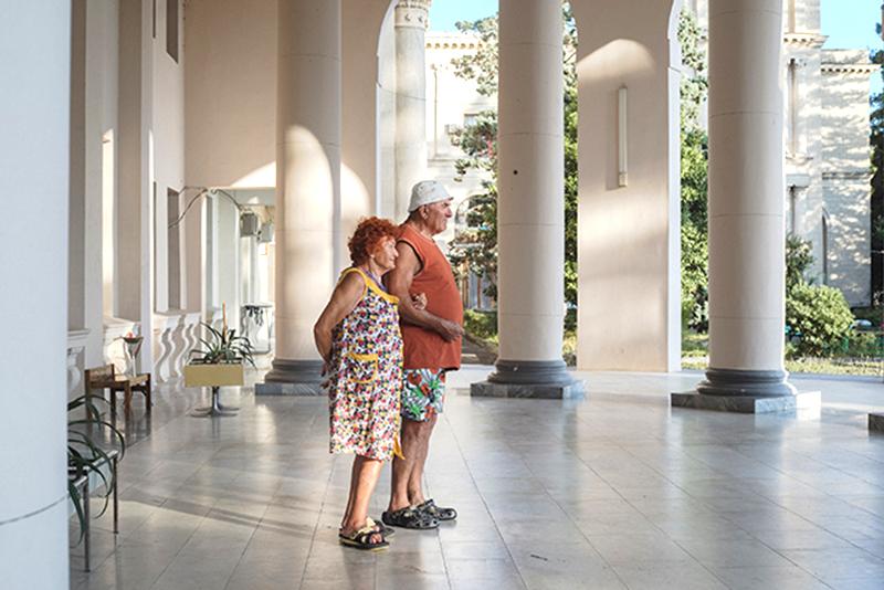 Дмитрий Лукьянов. Санаторий «Амра Интернешнл». Абхазия, 2016. Цифровой отпечаток