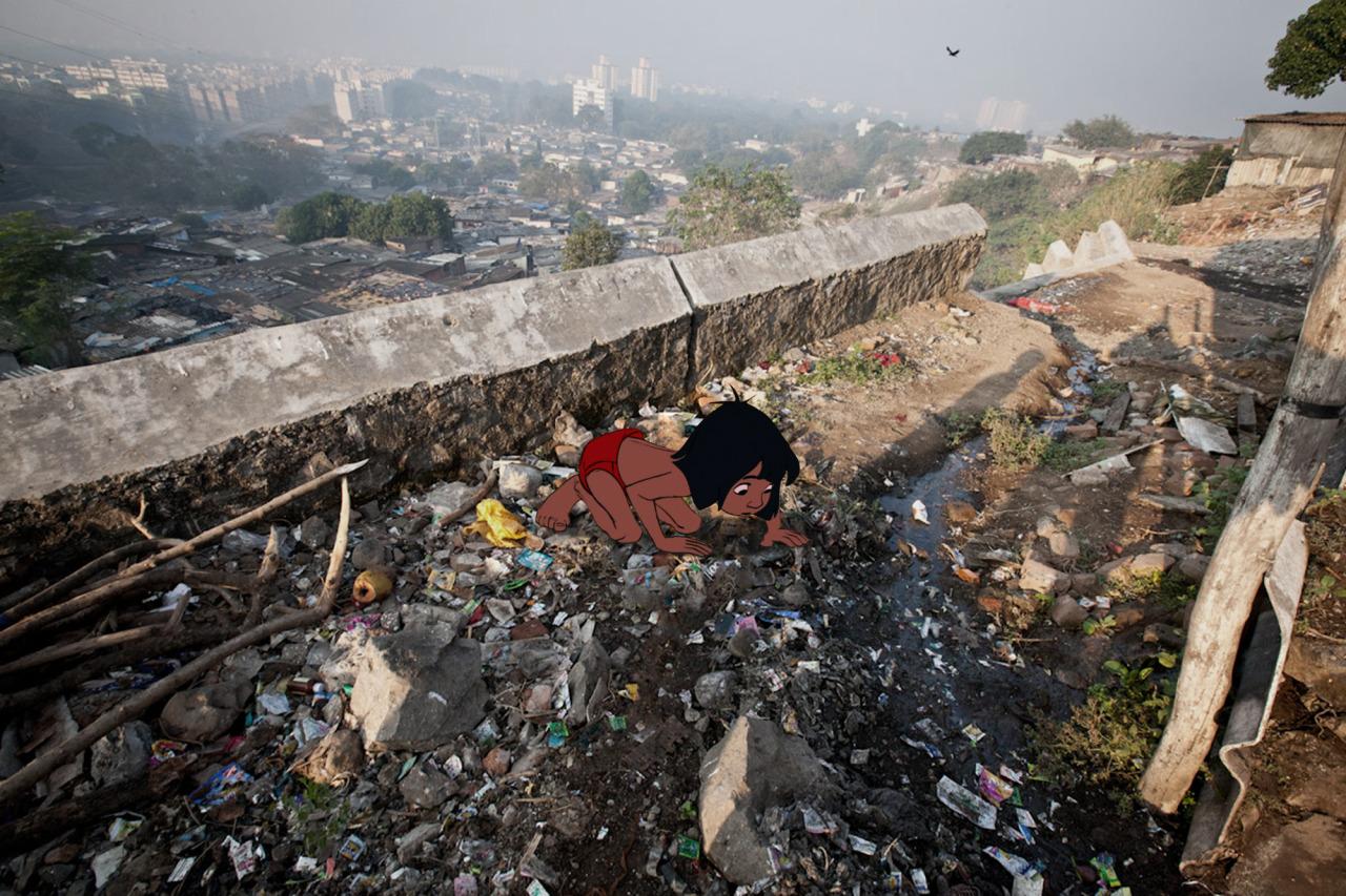 Джефф Хонг, «Книга Джунглей. Бедный индийский мальчик Маугли»