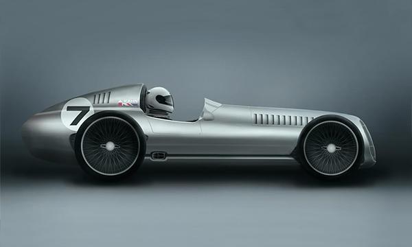 Тюнинг-ателье Kahn Design разработает спорткар в ретро-стиле
