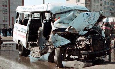 В Омске 16 человек пострадали в аварии маршрутного такси