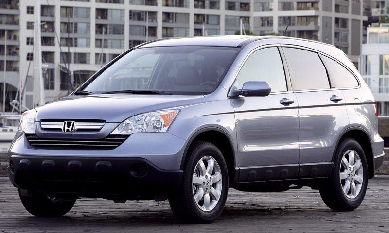 В России начались продажи новой Honda CR-V