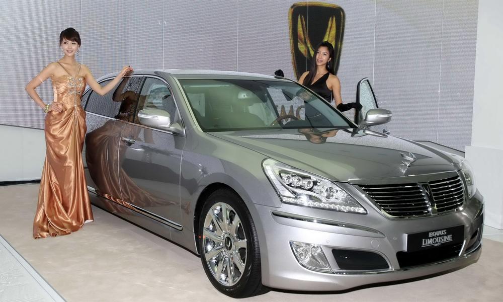 Hyundai Equus стал представительским лимузином
