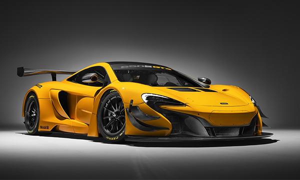McLaren обновил суперкар 650S GT3