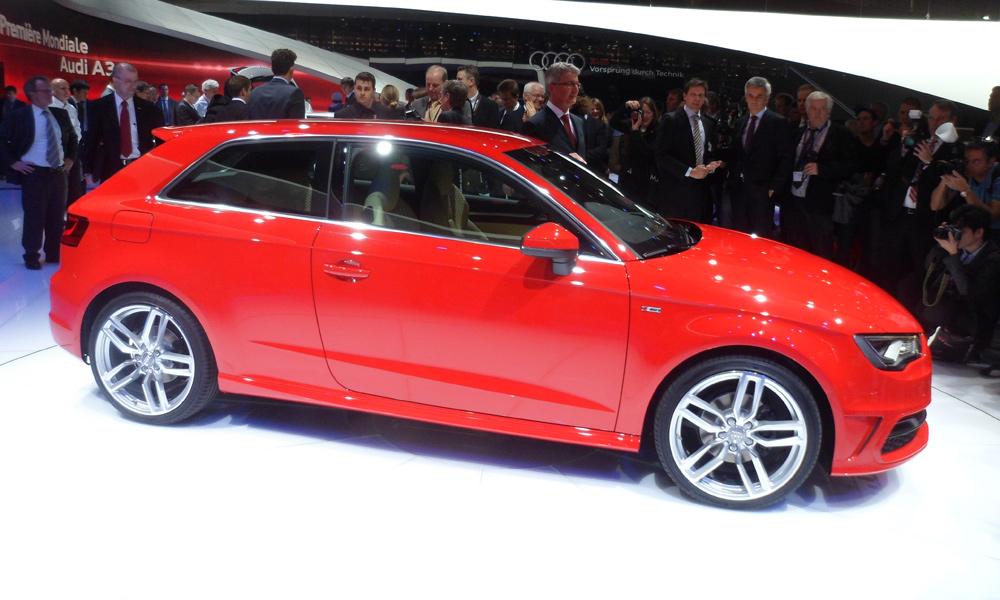 Новая Audi A3. Оставаться верным традициям. ФОТО. ВИДЕО