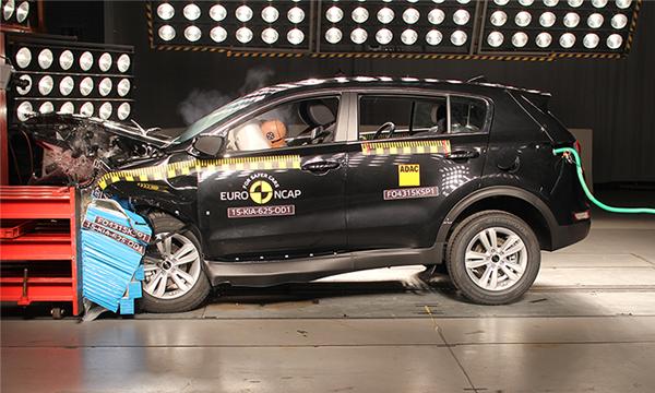 Kia Sportage, Jaguar XF и BMW X1 прошли новый тест Euro NCAP