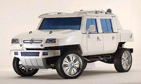 Oltre Fiat - реальная угроза Hummer