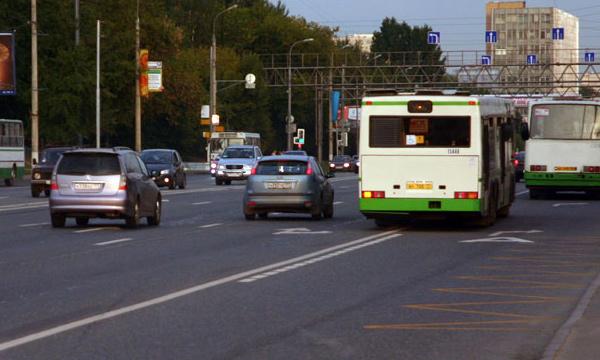 На Щелковском шоссе открыли выделенную полосу