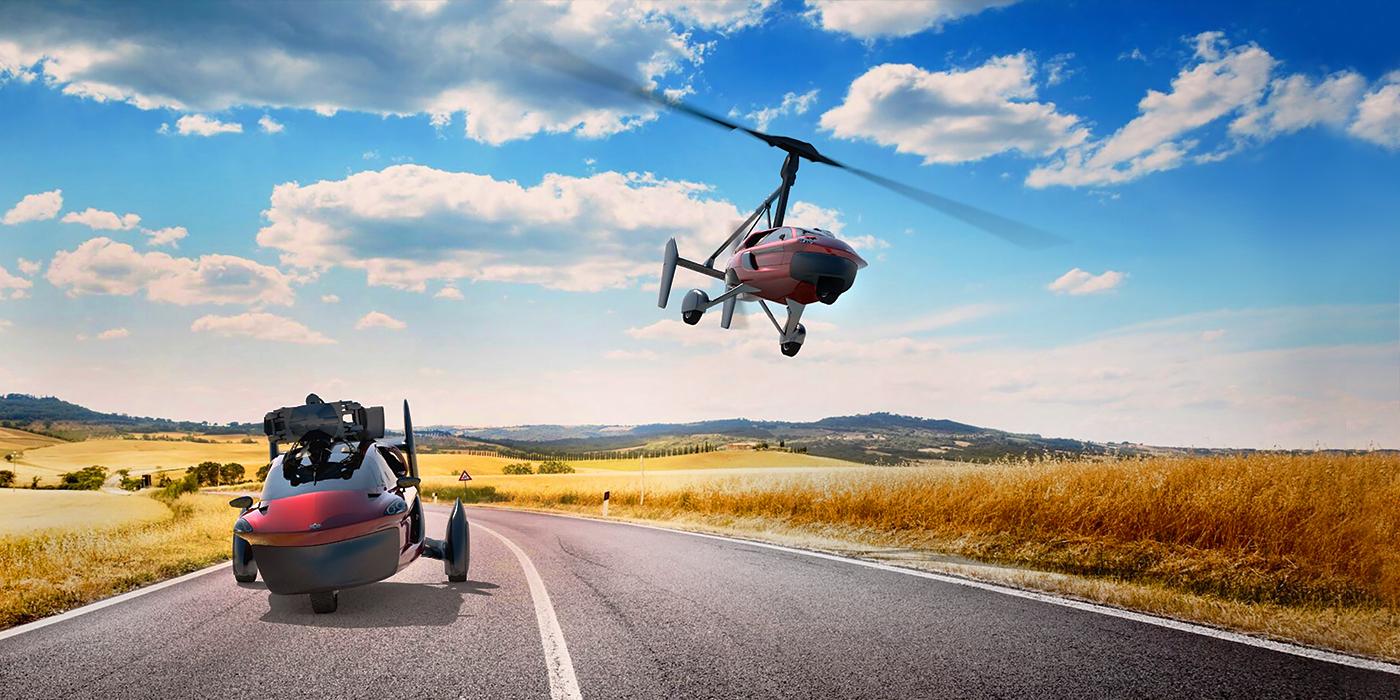 Тест: что вы знаете о летающих автомобилях