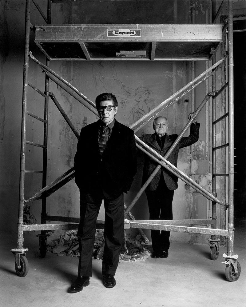 Ив-Сен Лоран и Пьер Берже, Париж, 2002
