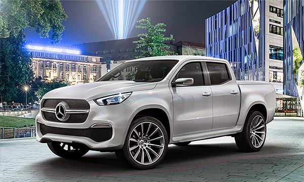 Первый пикап Mercedes получит AMG-версию