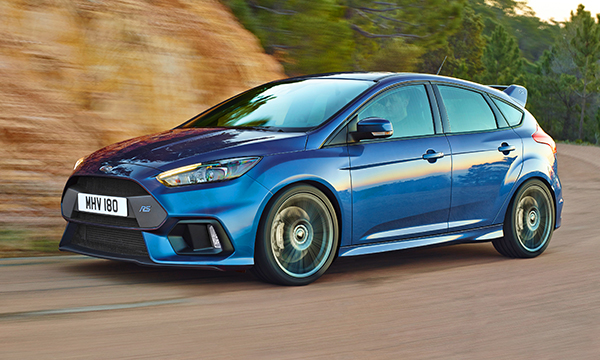 Обновленному Ford Focus RS добавят мощности