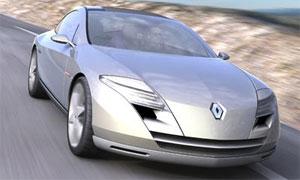 Появились шпионские фото купе Renault Laguna