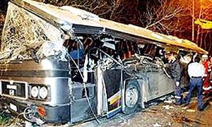 В Казахстане разбился переполненный автобус, 7 погибших