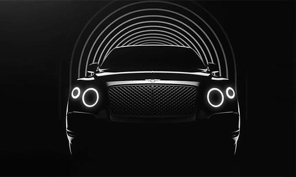 Bentley представила тизер кроссовера