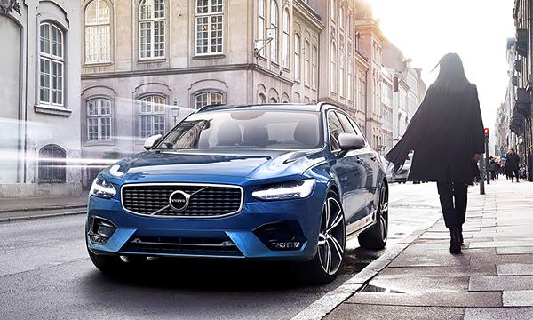 Volvo S90 и V90 получили пакет доработок R-Design