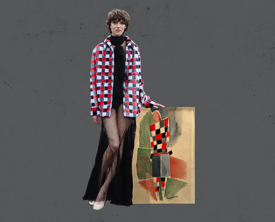 Walk of Shame, осень-зима 2016/2017 — Соня Делоне. «Эскиз мужского костюма», 1925 год
