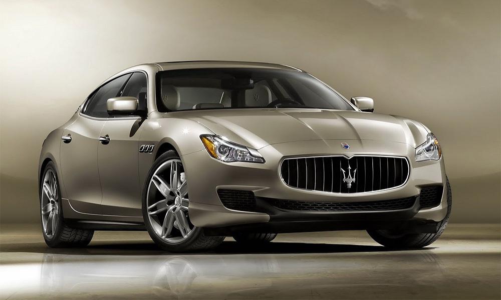 Maserati показал новый Quattroporte