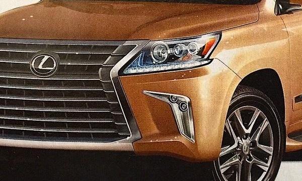 Обновленный Lexus LX 570 рассекретили до премьеры