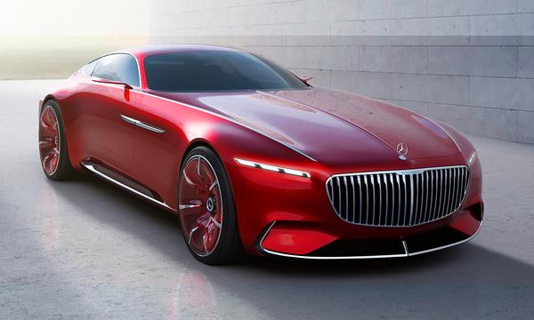 Внешность купе Mercedes-Maybach рассекретили до премьеры