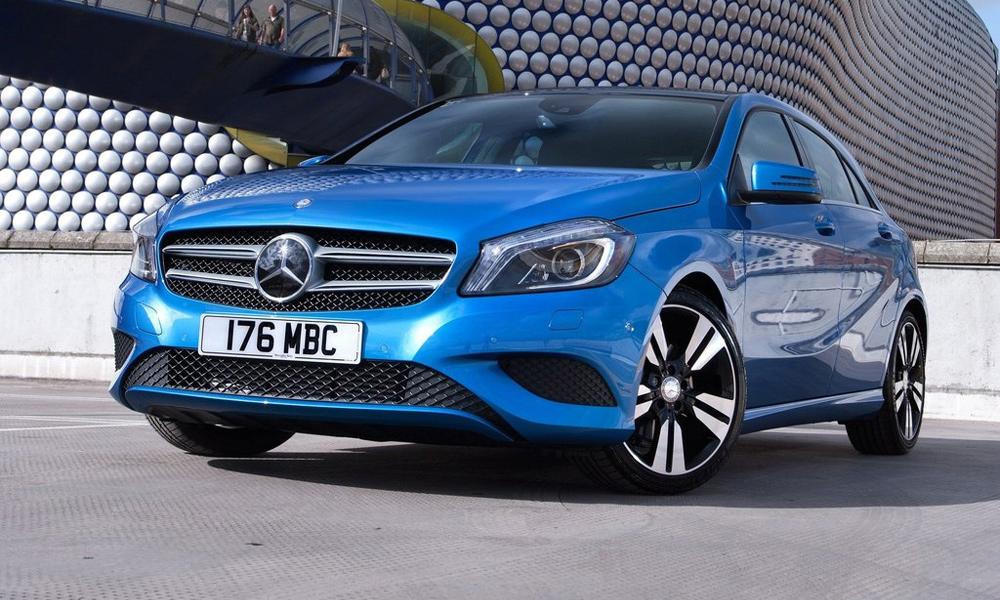 Mercedes-Benz A-Class уложился в миллион