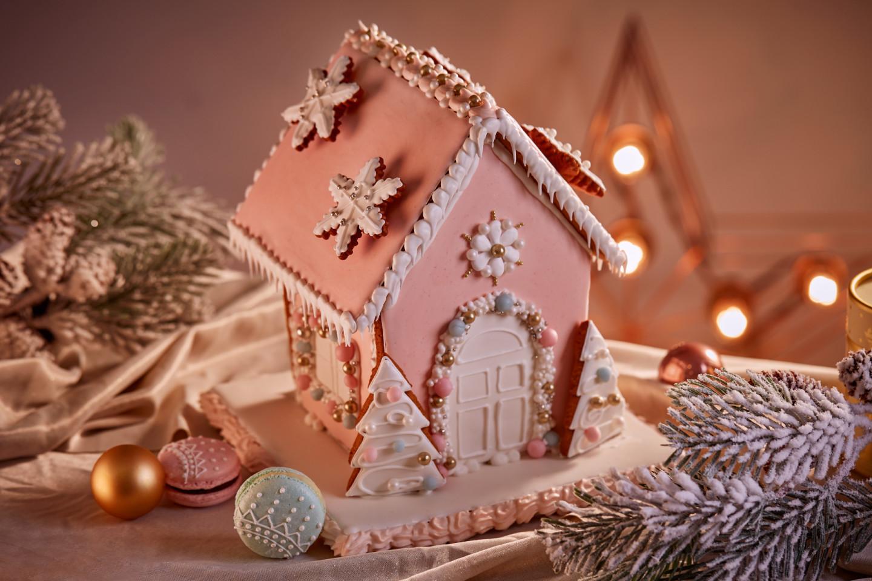Пряничный домик Pink