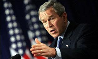 Дж. Буш пообещал поддержать американских автопроизводителей