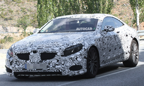 Купе на базе Mercedes-Benz S63 AMG заметили на тестах