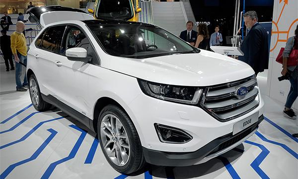 Европейская версия Ford Edge получил 210-сильный двигатель