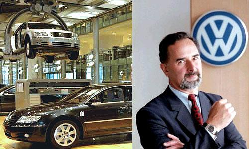 Руководитель Volkswagen Бернд Пишетсридер