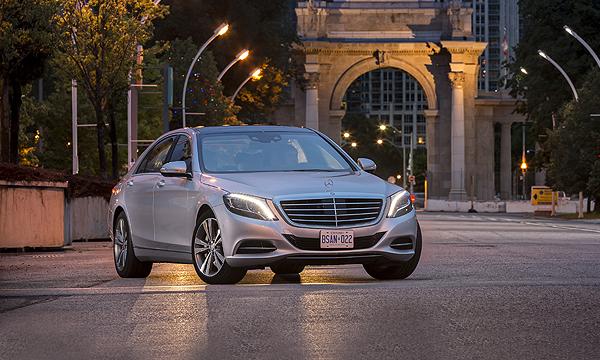 Абсолют. Тест-драйв нового Mercedes S-class