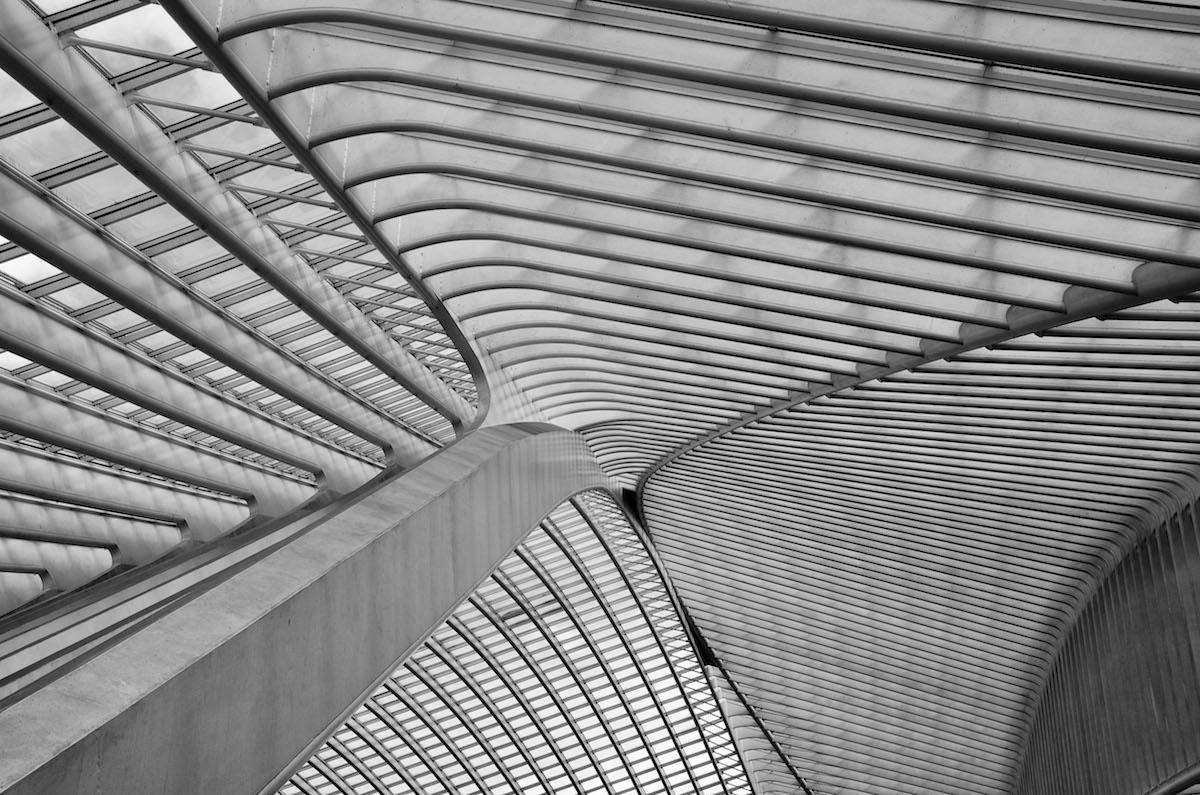 ВокзалЛьеж-Гийемен в Бельгии. Категория«Интерьер»