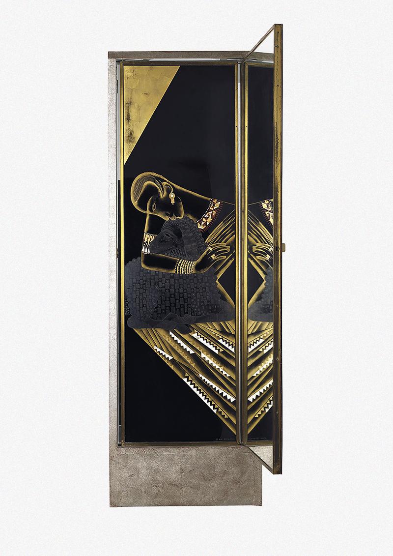 Жан Дюнан, часть триптиха из парижского салона мадам Аньес на улице Сен-Флорентен, 1926 (продана на аукционе Phillips в Лондоне в сентябре 2013 года за £170 500)