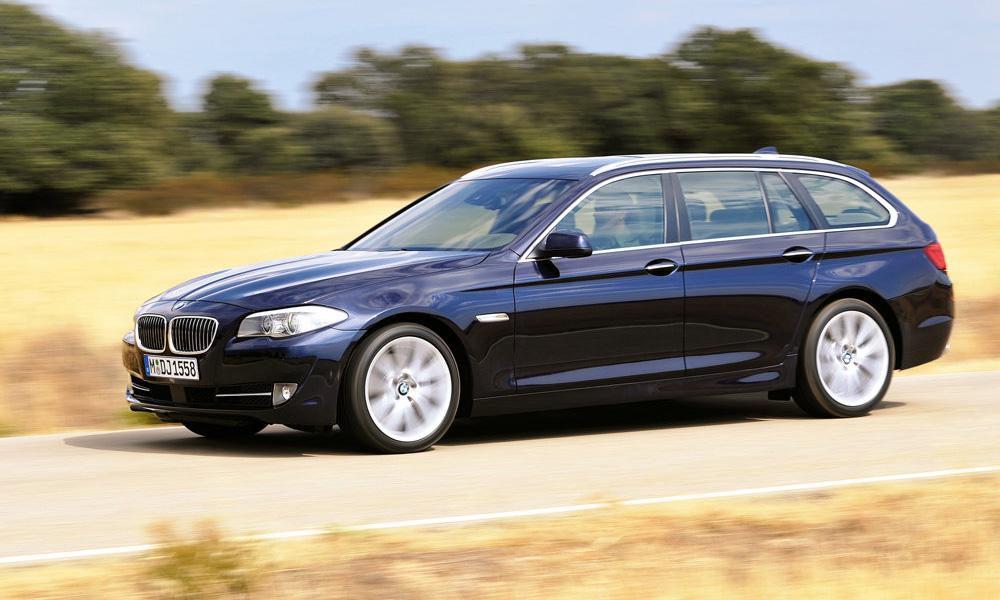 BMW официально представил универсал 5-Series