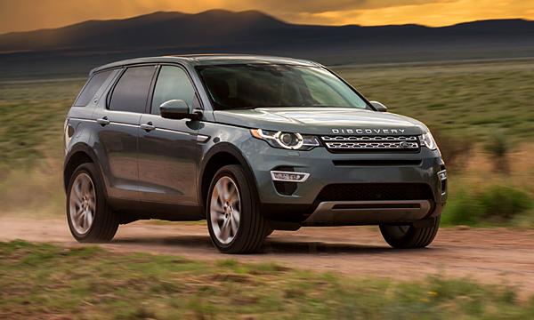 Зарядок хватит на всех: Land Rover Discovery Sport