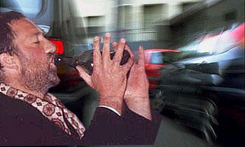 Нетрезвый водитель Alfa Romeo столкнул два грузовика