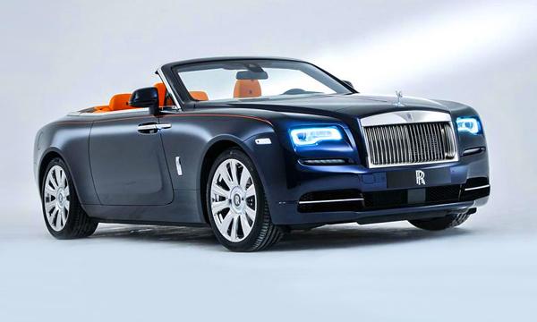 Rolls-Royce представил кабриолет Dawn
