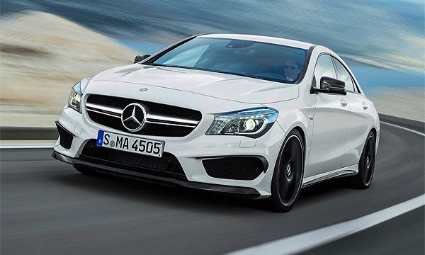 Опубликованы первые фотографии Mercedes-Benz CLA 45 AMG